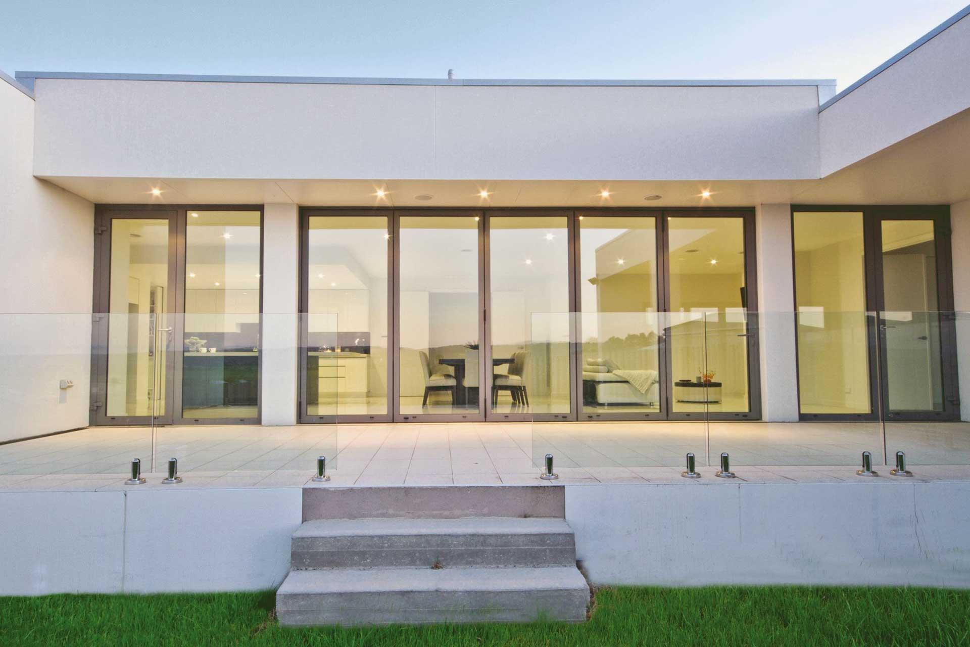Aluminium Bi-Fold Doors Harpenden